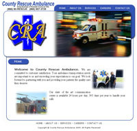 ambulance web designers