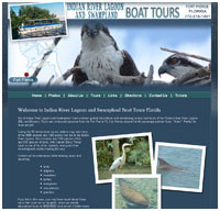 website design for boat charters in Fort Pierce FL