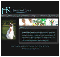 events management web designers