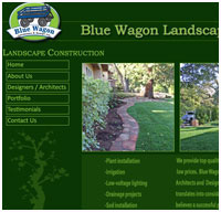 website designers for landscaping