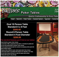 website designer for poker websites