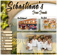 web design for caterers