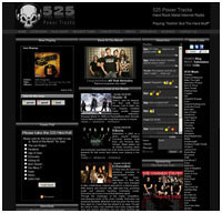 radio station web design