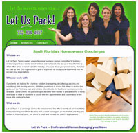 website designer for Stuart FL move manager
